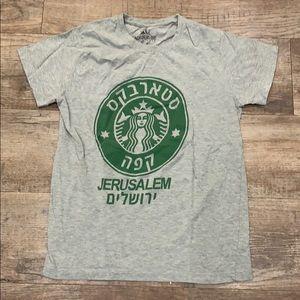 STARBUCKS JERUSALEM t-shirt